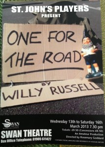 One for the Road Poster